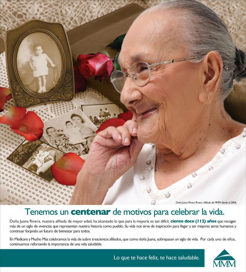 MMM/Medicare advantage company/Tribute to it's centnennaries ad